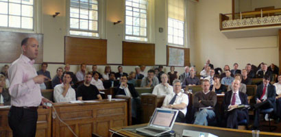 The Joint Mitigation Protocol launch on 16 May 2008 at Southwark Town Hall was attended by over 100 people
