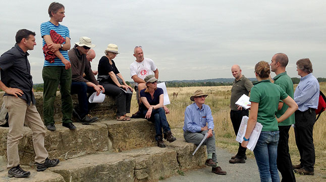LTOA members visit Thames Chase Community Forest